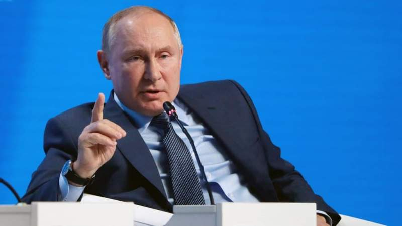 Putin Blames Europe's 'Systematic Flaws' for Energy Crisis